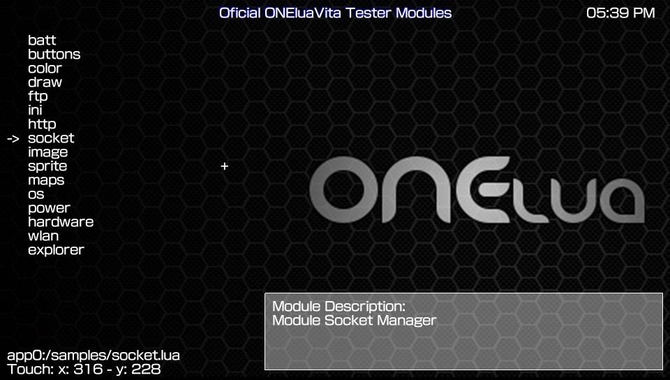 ONElua-Vita